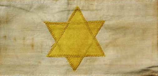 Нарукавная повязка евреев в Венгрии.