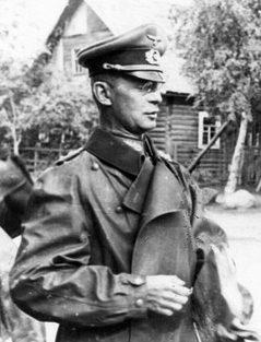 Георг Рейнгардт на Восточном фронте. 1942 г.
