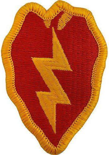 25-я пехотная дивизия. Созданная в 1942 году.