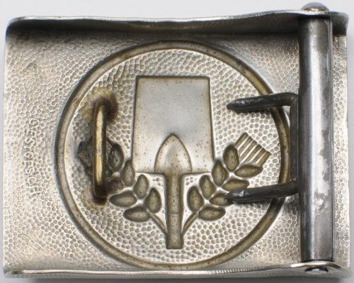 Пряжки рядового состава региональных служб RAD, FAD, NSAD образца 1933-1935 годов.