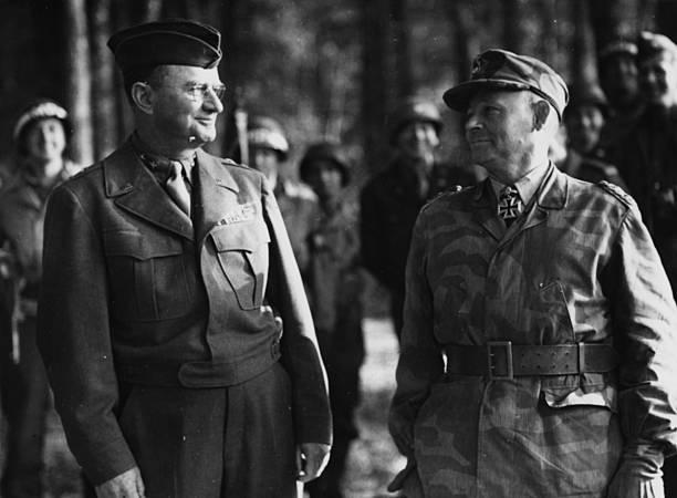 Бернхард Рамке в плену. 1944 г.