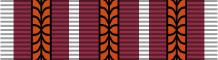 Планка при награждении четвёртой медалью.