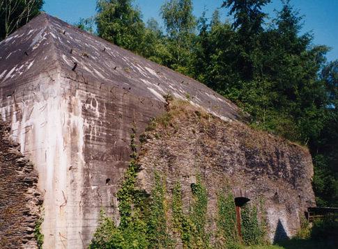 Остатки бункера в комплексе «Адлерхорст».