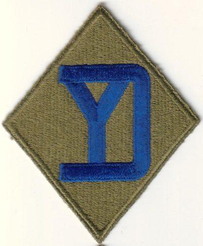 26-я пехотная дивизия. Созданная в 1944 году.
