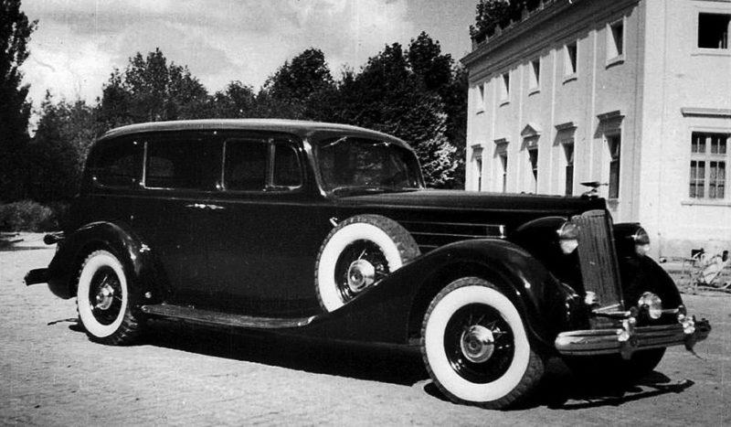 Бронированный «Packard Twelve» генсека.