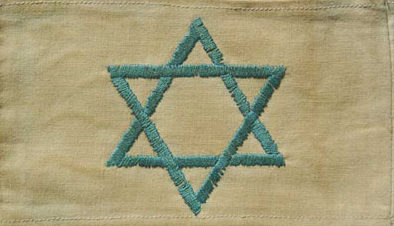 Нарукавная повязка евреев в Силезии.