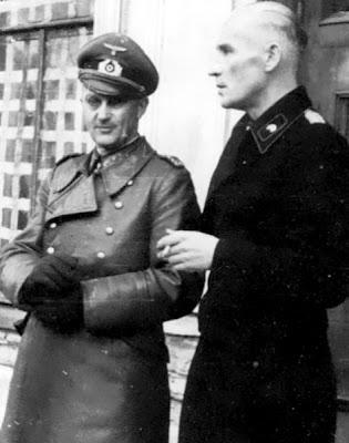 Вальтер Модель и Ричард Колл. 1944 г.