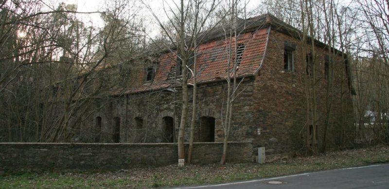 Остатки самого большого дома №7 сегодня.
