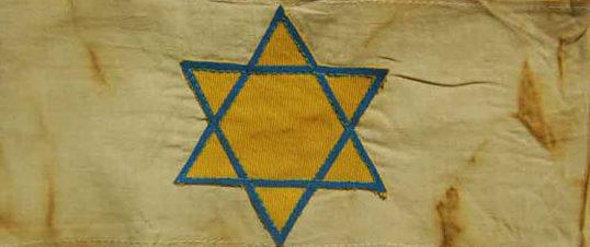 Нарукавная повязка евреев в Словакии.