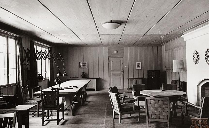 Рабочий кабинет Гитлера в «Werwolf».