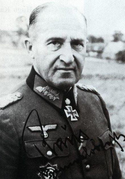 Эрхард Раус. Генерал-полковник.