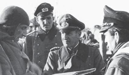 Эрхард Раус на Восточном фронте. 1941 г.