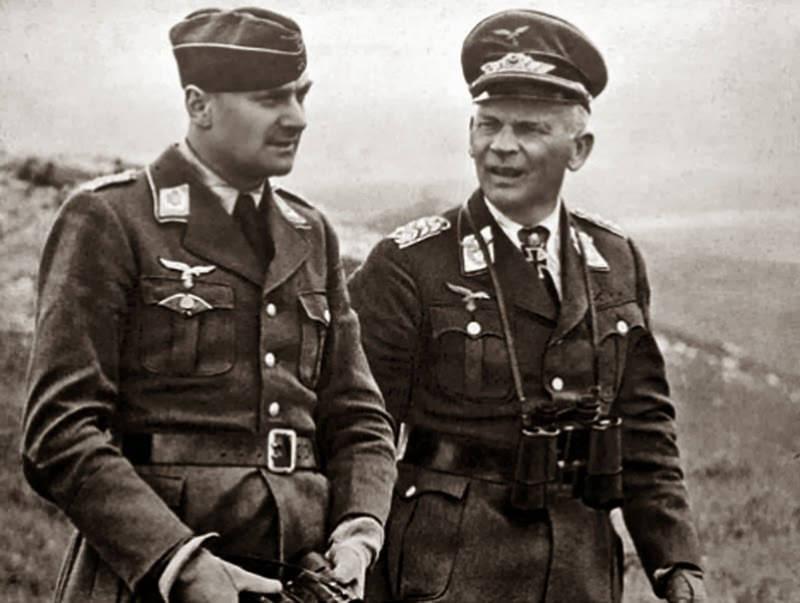 Вольфрам Рихтгофен и Кристиан Торстен. 1943 г.