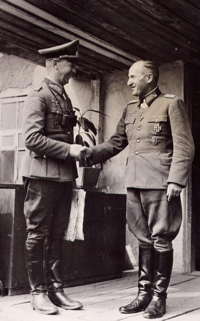 Эрхард Раус и Отто Велер. 1942 г.