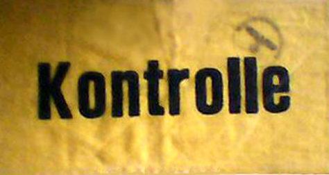Нарукавная повязка контролера.