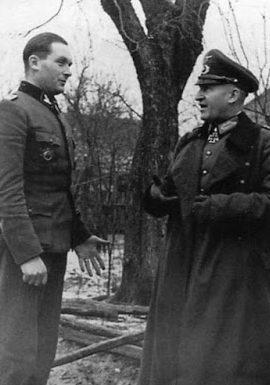 Эрхард Раус на Восточном фронте. 1943 г.