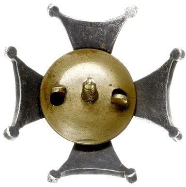 Аверс и реверс офицерского полкового знака 16-го Великопольского уланского полка им. генерала Густава Орлич-Дрешера.