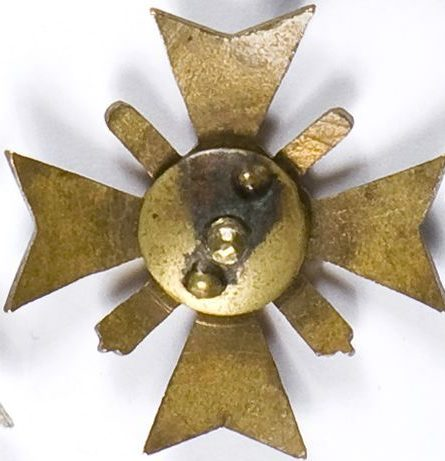 Аверс и реверс полкового знака 14-го Великопольского полка полевой артиллерии.