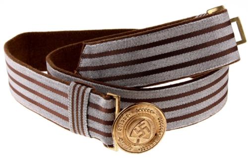 Парадный ремень и латунная пряжка для генералов RAD.