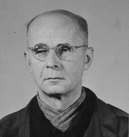Георг Рейнгардт в тюрьме. 1946 г.