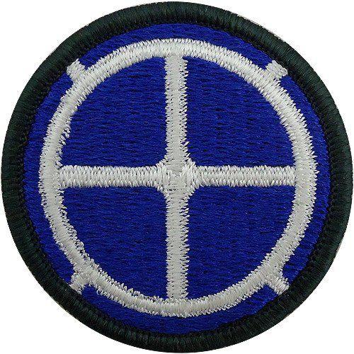 35-я пехотная дивизия. Созданная в 1944 году.