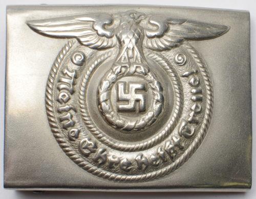 Ремень со стальной пряжкой рядового и унтер-офицерского состава СС.
