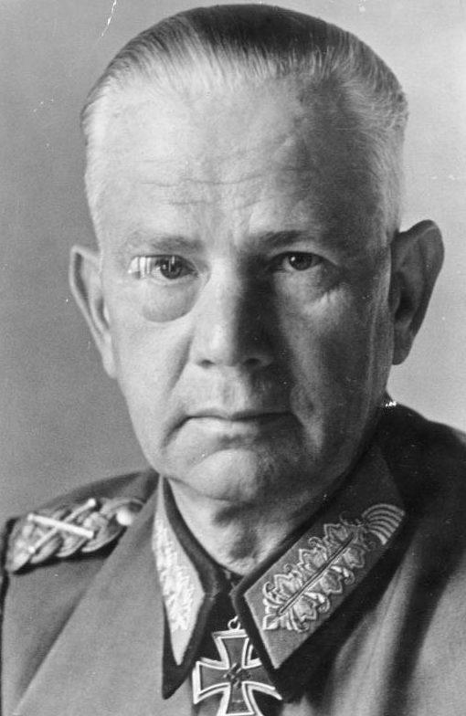 Вальтер Рейхенау. Генерал-фельдмаршал.