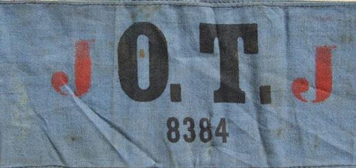 Стандартные нарукавные рабочих организации Тодта.