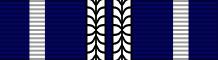 Планка при награждении третьей медалью.