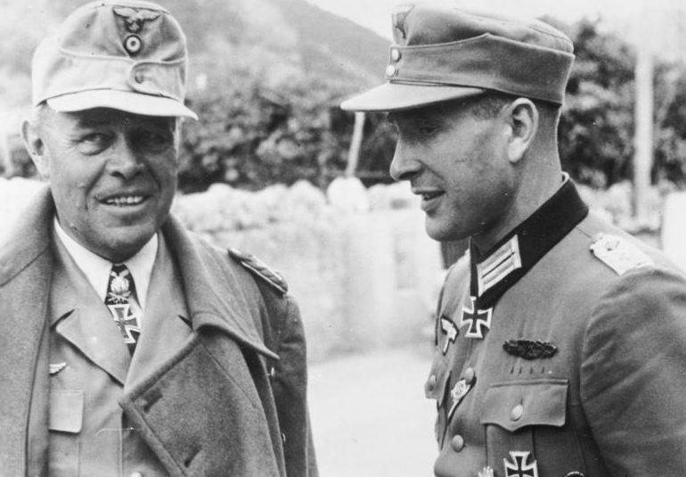 Альберт Кессельринг в Италии. 1944 г.