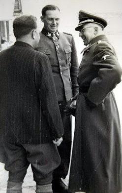 Эрхард Раус и Генрих Гиммлер. 1944 г.