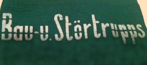 Нарукавные повязки строительной бригады организации Тодта.