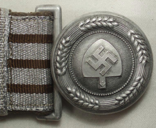 Парадный ремень и алюминиевая пряжка для офицерского состава RAD.