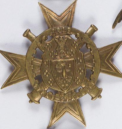 Солдатский полковой знак 17-го полка легкой артиллерии.