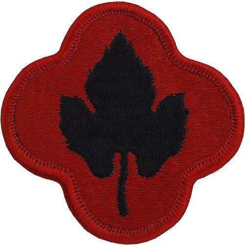 43-я пехотная дивизия. Созданная в 1943 году.