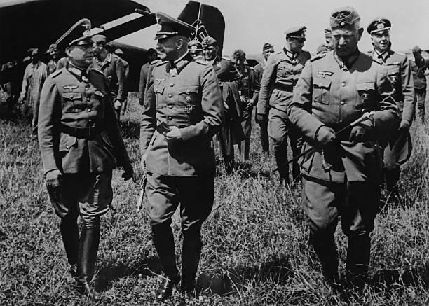 Эвальд Клейст, фон Браухич, фон Рейхенау на Восточном фронте. 1941 г.