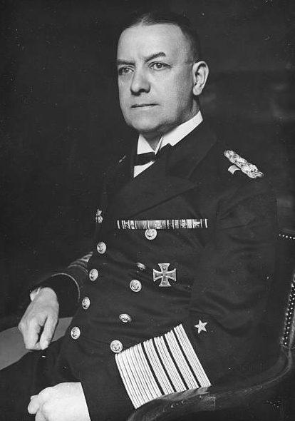 Эрих Редер. Гроссадмирал.