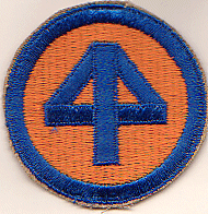 44-я пехотная дивизия. Созданная в 1944 году.