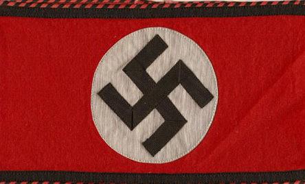 Нарукавная повязка члена СС Восточной Европы.