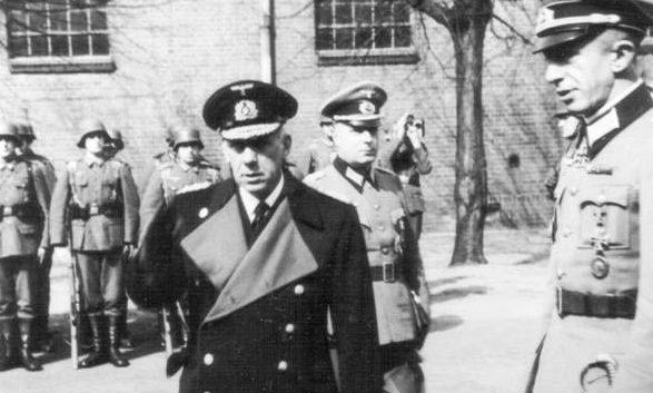 Фридрих Канарис. 1943 г.