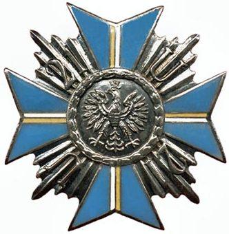 Офицерский полковой знак 21-го Надвисланского уланского полка.