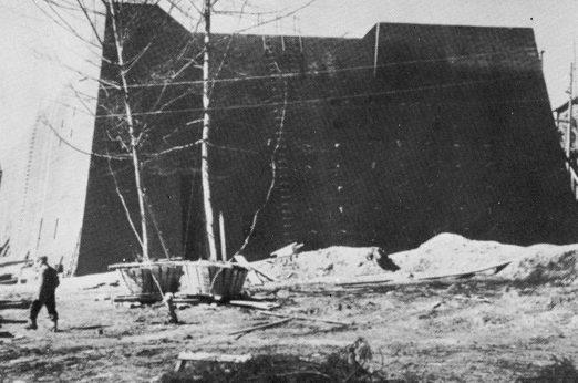 Фюрербункер в 1944 году.