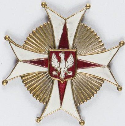 Полковой знак 22-го Подкарпатского уланского полка.