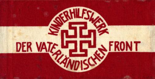 Нарукавная повязка Австрийского отечественного фронта службы поддержки молодежи.