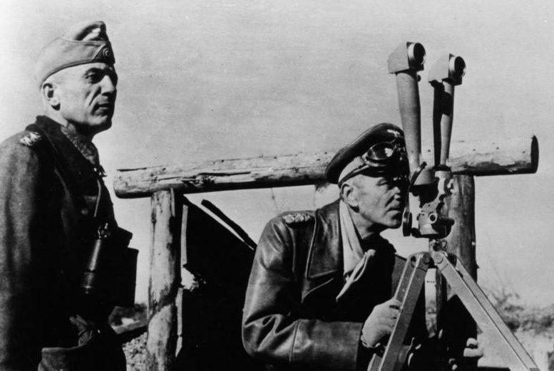 Фридрих Паулюс. Сталинград. 1942 г.