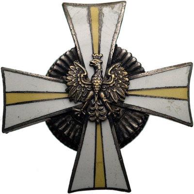 Полковой знак 24-го уланского полка.