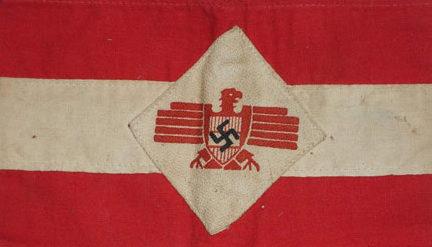 Нарукавные повязки Австрийской национал-социалистической рабочей партии.