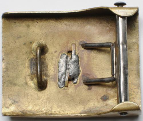 Ранняя латунная пряжка корпуса NSKK.