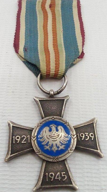 Аверс Креста Силезского восстания.