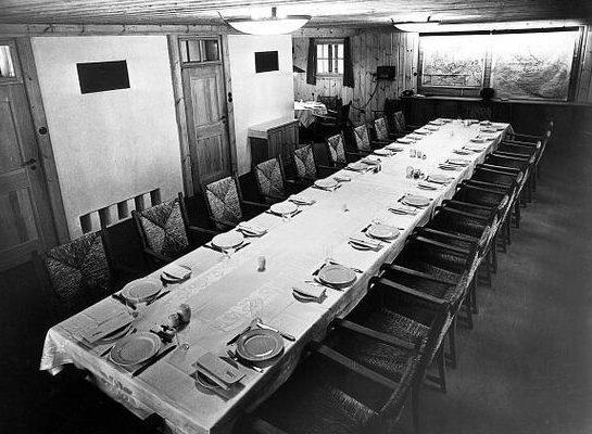 Большой обеденный зал.